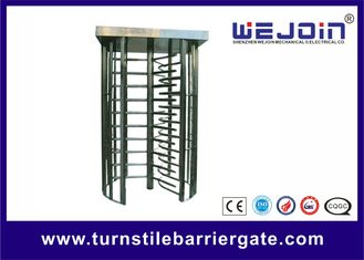 Pedestrian Security Gates Automatic Turnstile Full Height Dengan Fungsi Memori