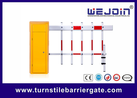 High Grade Residential Area Automatic Barrier Gate Anti Tabrakan Dengan Pagar Lengan