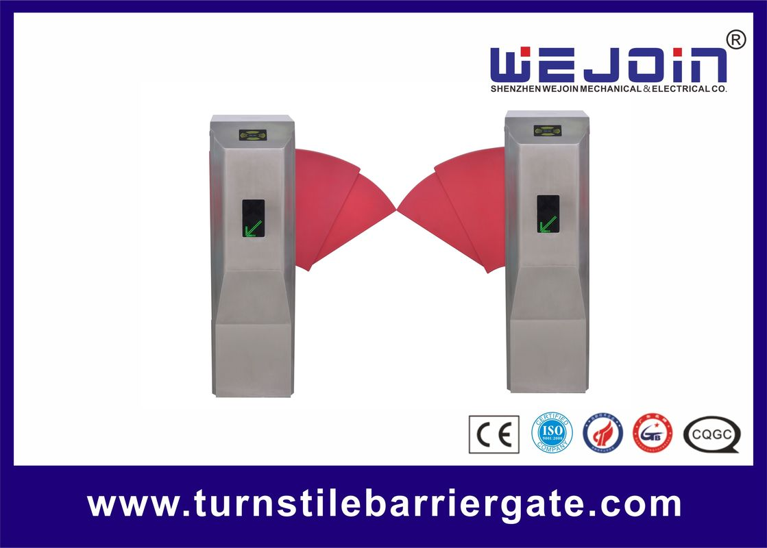 Flap Barrier Gate With Widen Flap and Safe Internal Construction Design For Access Control System pemasok