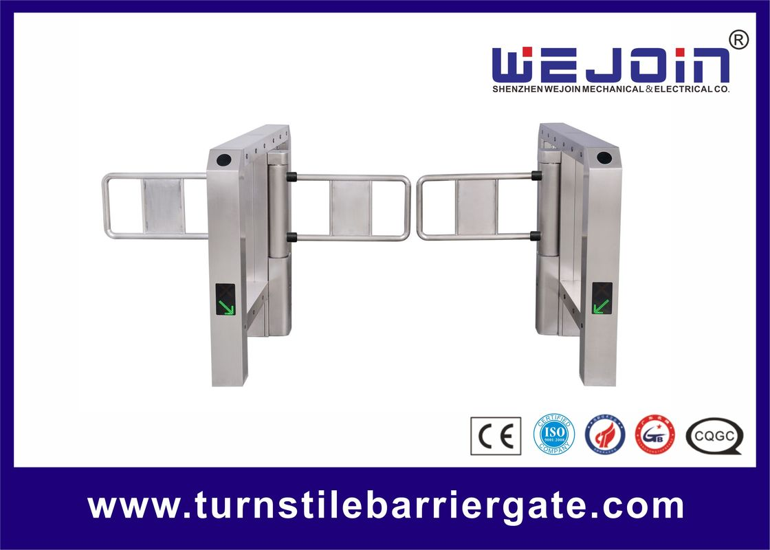 Automatic swing barrier integrated with modern intelligent management system and 304 stainless steel pemasok