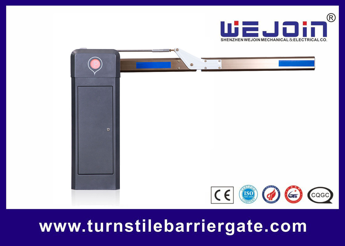 Brushless DC Motor Vehicle Barrier Gate AC 110V / 220V Kontrol Presisi Tinggi pemasok