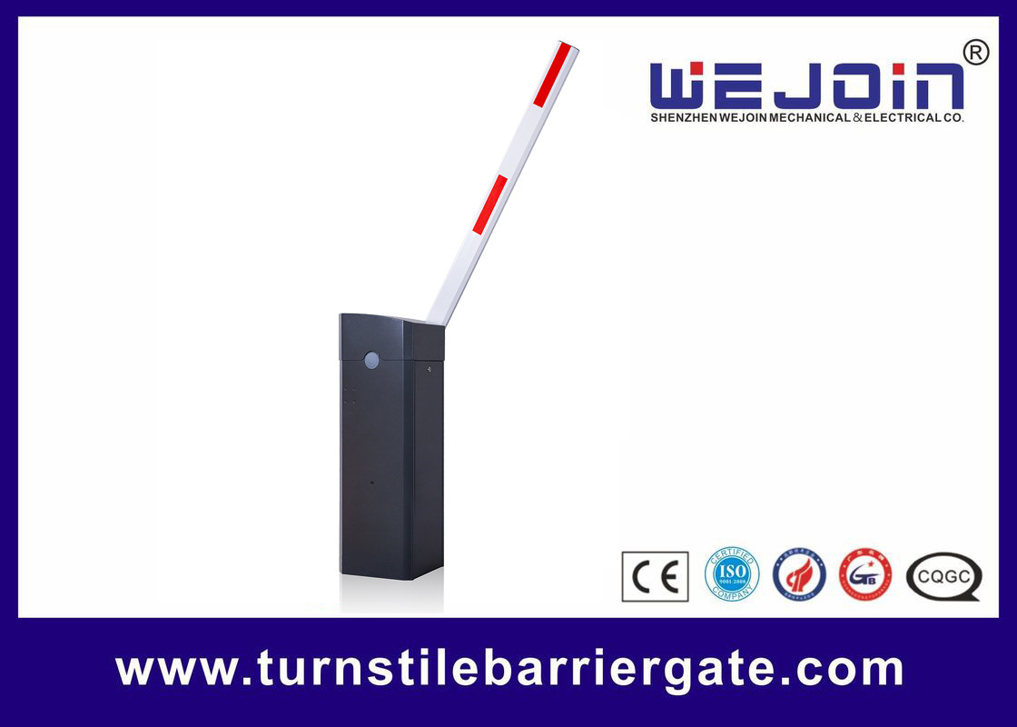 CE ISO Approved Parking Barrier Gate No Limit Switch Design Automatic Drop Arm Boom